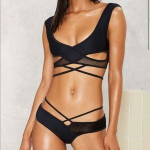 Lee + Lani Mack daddy mesh bikini